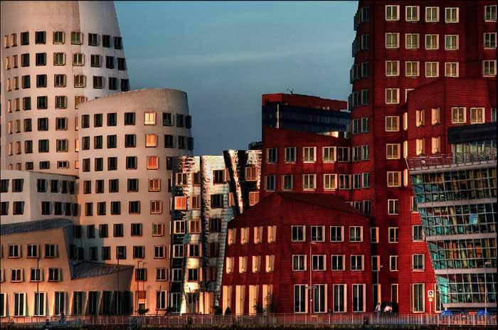 Düsseldorf Mediahafen