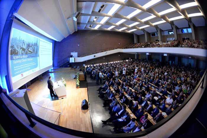 Präsentation in der TU