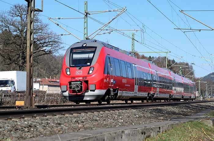 Eisenbahn Talent Bombardier