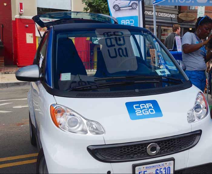 Car Sharing Auto