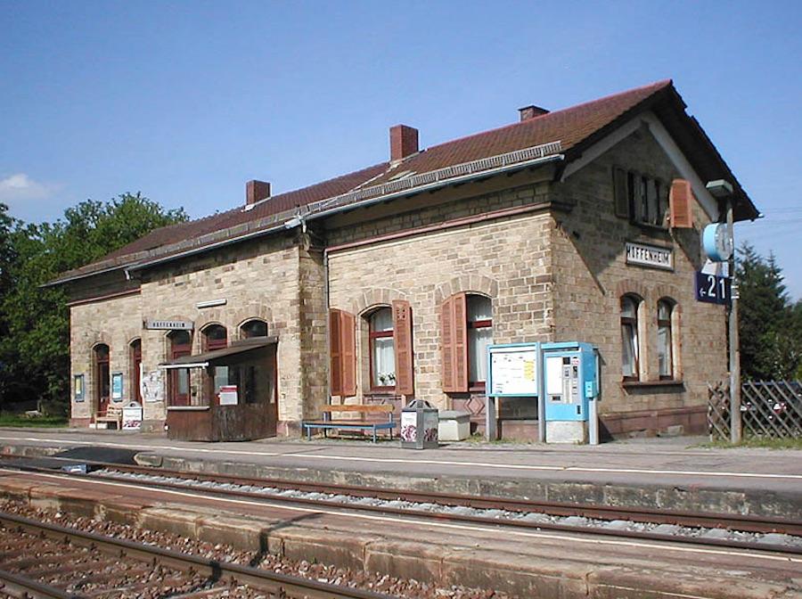 Bahnhof Sinsheim