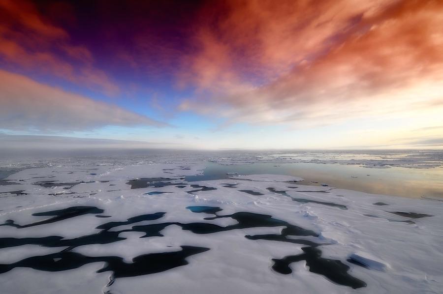Arktisches Eis