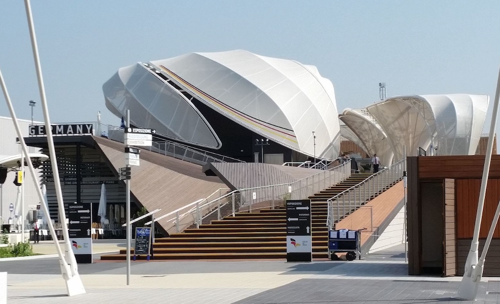 Deutscher Pavillon auf der Expo2015