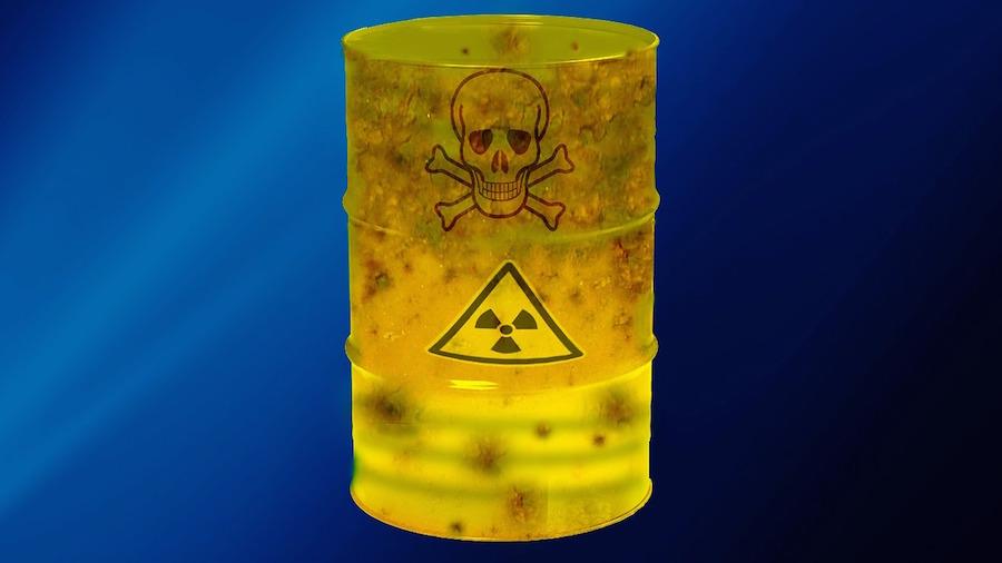 Atommülltonne