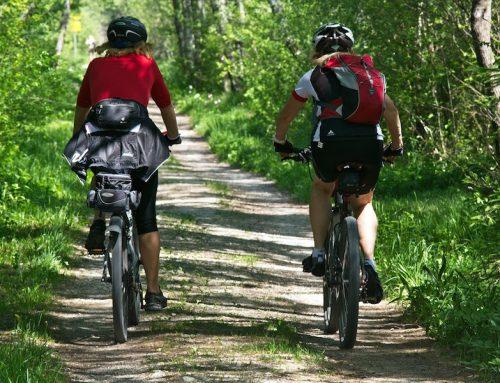 Nachhaltige Produkte für den Radweg