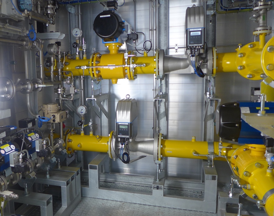 Wasserstoffeinspeisung