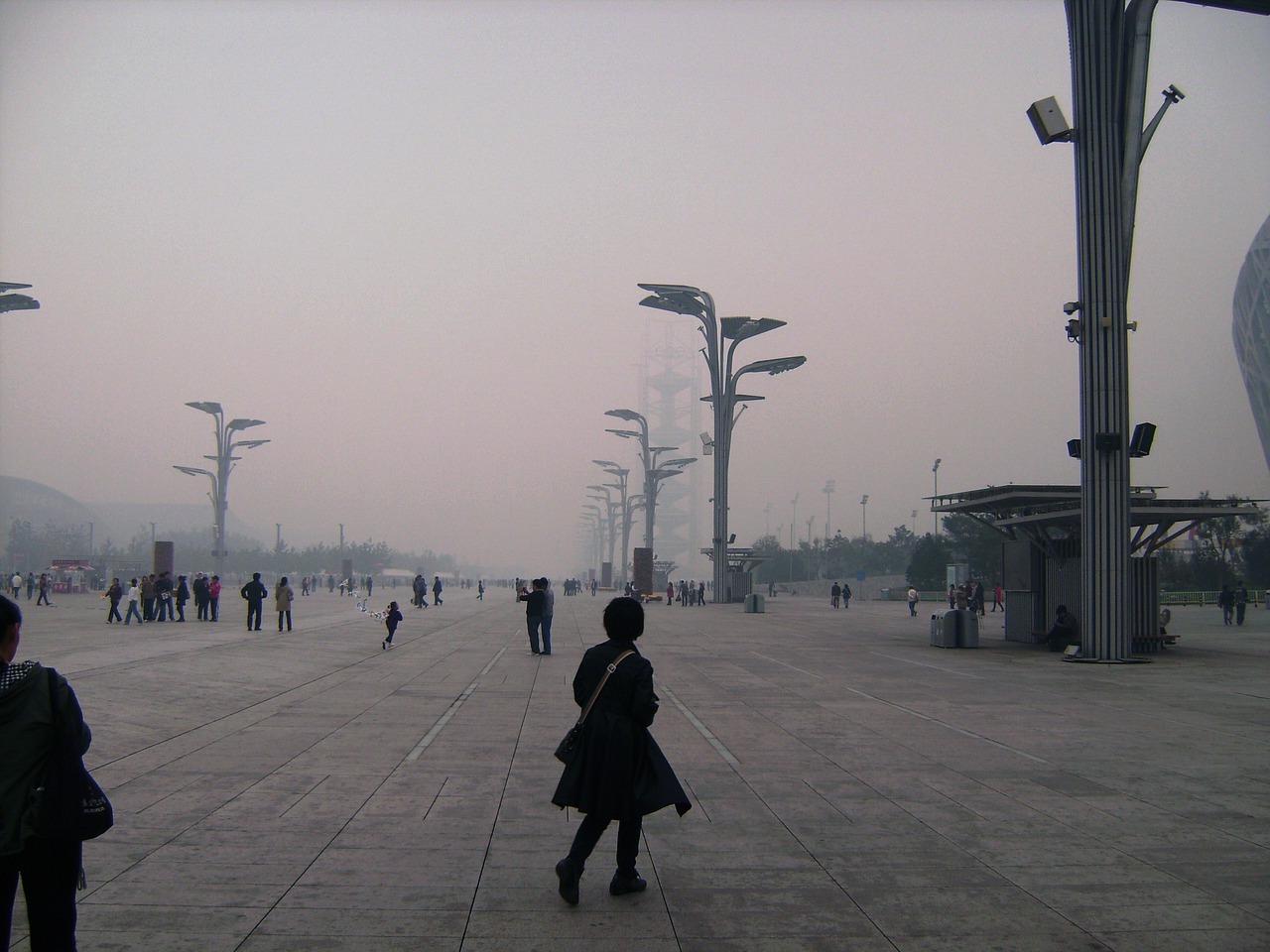 Klimawandel Smog Peking