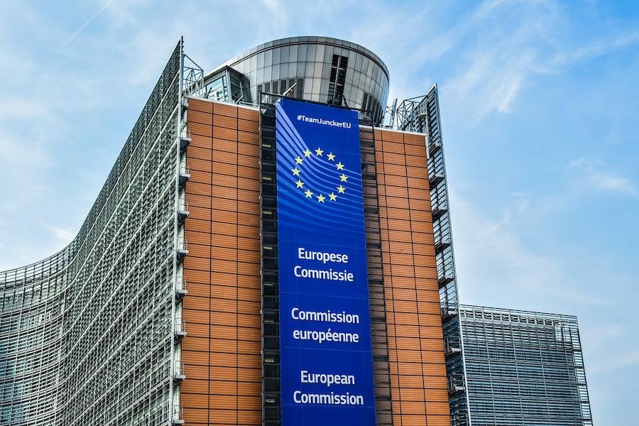 EU Kommissionsgebäude in Brüssel