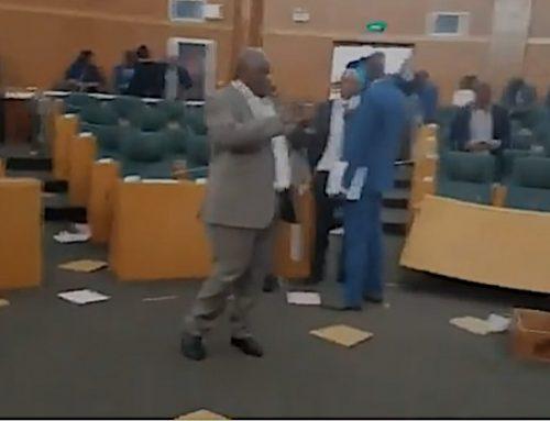 Warum man sich im Parlament in Lesotho prügelte