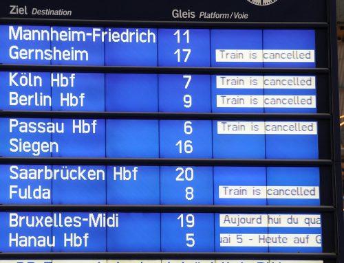 Bahn strich 2019 insgesamt 3700 Fernverkehrsverbindungen