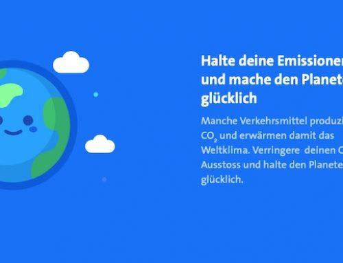 Swiss Climate Challenge: Wie man mit einer App seinen persönlichen CO2 Abdruck messen kann