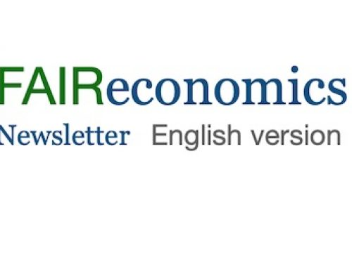 FAIReconomics Newsletter Week 36    english version