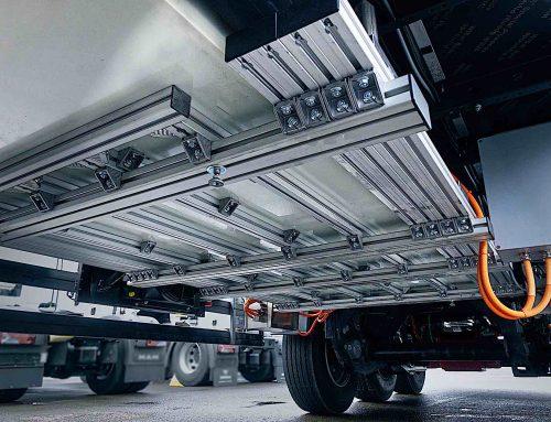 Wie elektrisch angetriebene LKW Trailer bis zu 20 Prozent CO2 einsparen können
