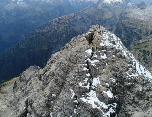 Die Melodie eines zerfallenden Alpengipfels