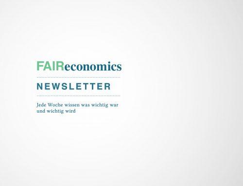 FAIReconomicsNewsletter KW 52: EEG Reform beschlossen, Altmaier hielt Kohlegutachten zurück, Lieferkettengesetz kommt erst mal nicht, Wasserstoffweltmeister, Weihnachtsbäume