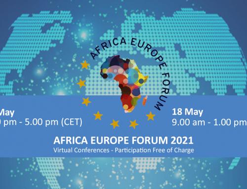 AFRICA EUROPE FORUM 17-18 May 2021